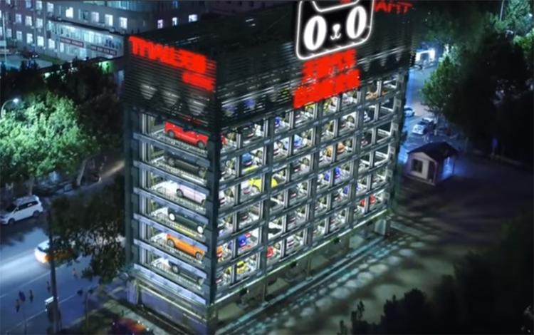 Alibaba установит торговый автомат по продаже премиум-автомобилей