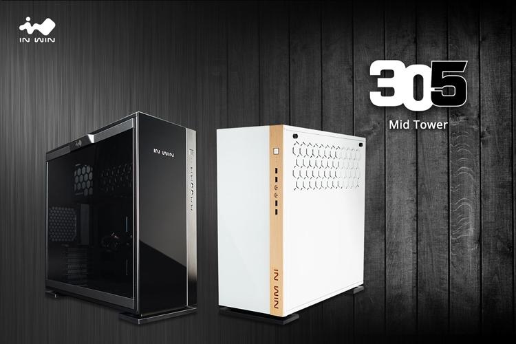 Корпус In Win 305 предстал в двух вариантах внешней отделки