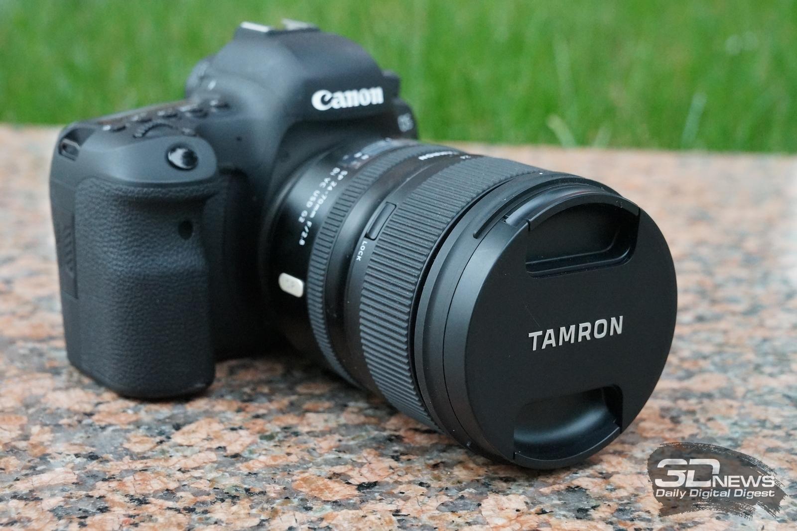 Обзор объектива Tamron SP 24-70mm F/2.8 G2: взгляд в сторону