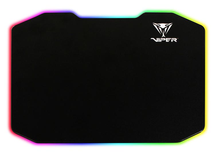 Patriot Viper LED Mouse Pad: коврик для мыши с многоцветной подсветкой