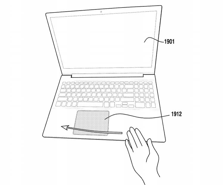 Samsung научит тачпады ноутбуков распознавать бесконтактные жесты