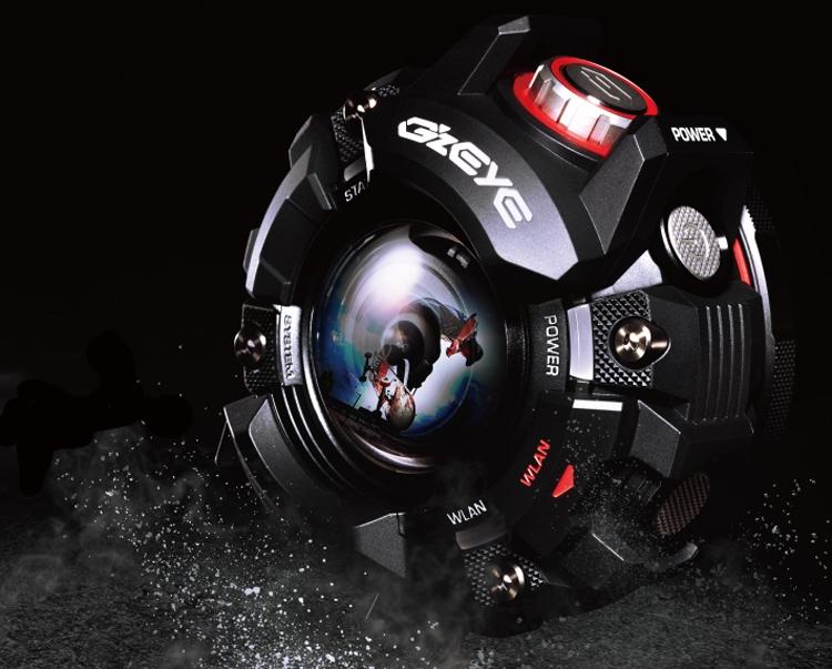 Casio GZE-1: неубиваемая экшен-камера с агрессивным дизайном