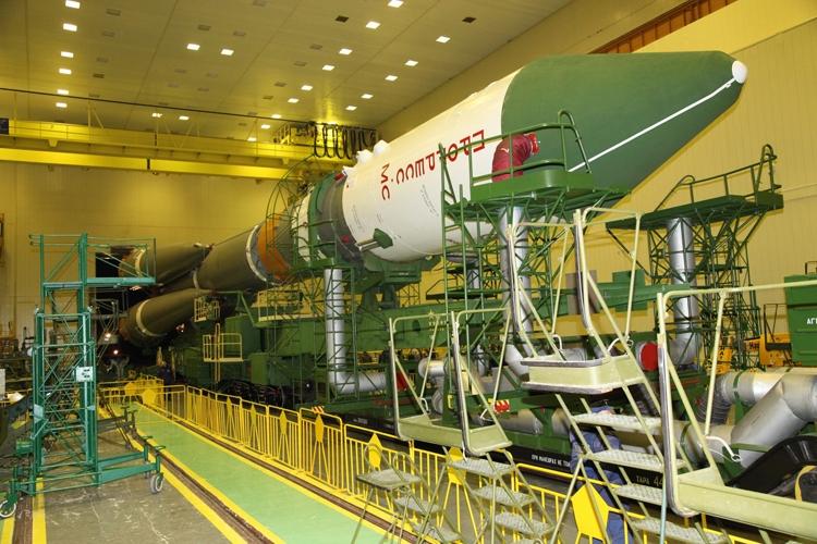 Запуск грузового корабля «Прогресс МС-07» отменён