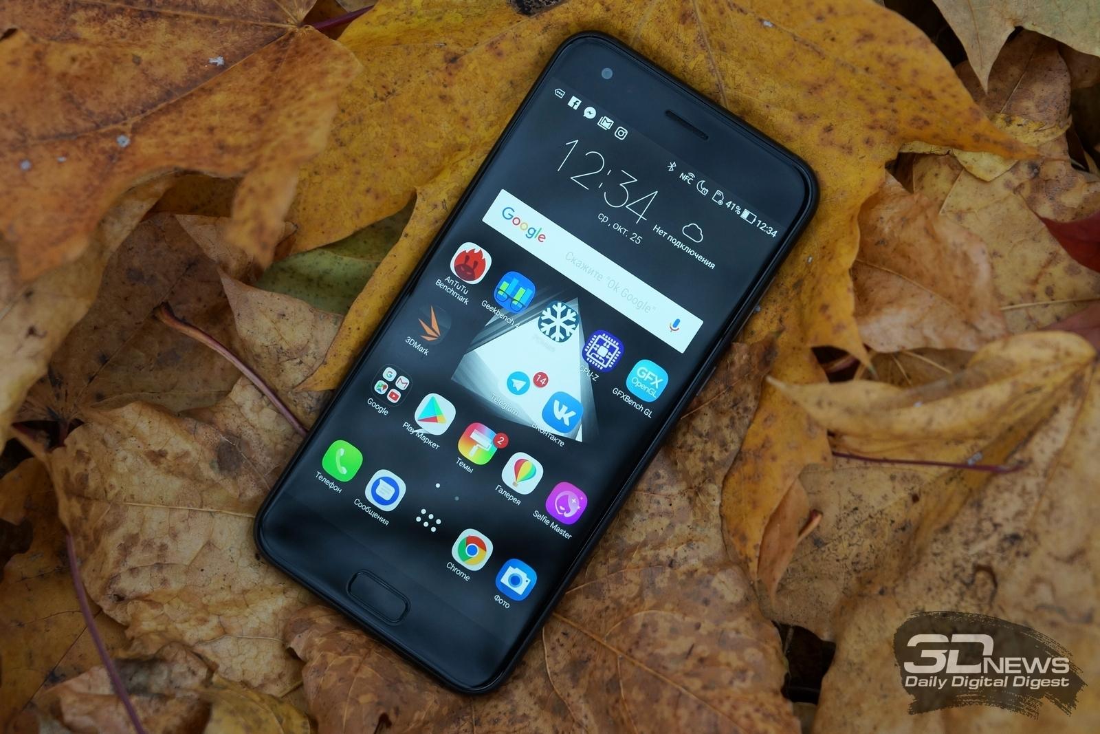 Новая статья: Обзор смартфона ASUS Zenfone 4: широкий взгляд на вещи