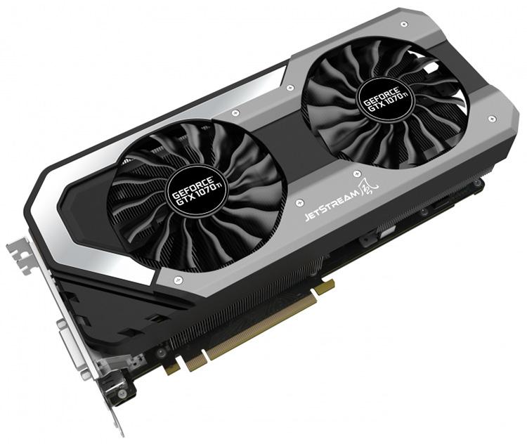 Palit и Gainward выпустили четыре модели GeForce GTX 1070 Ti на двоих