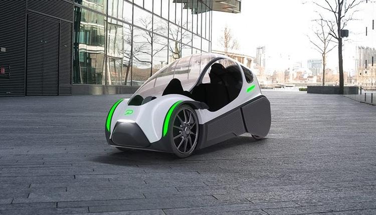 podbike необычный гибрид велосипеда небольшого электромобиля