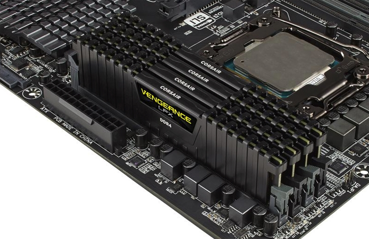 Corsair представила новый комплект памяти Vengeance LPX DDR4-4333