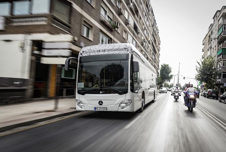 Городской автобус Mercedes-Benz Citaro станет полностью электрическим