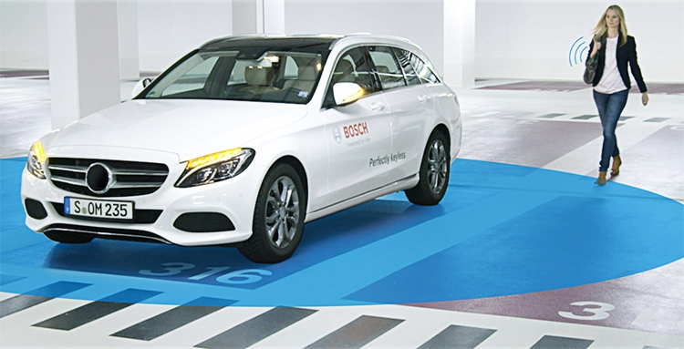 Bosch Perfectly Keyless, или смартфон вместо ключа от автомобиля