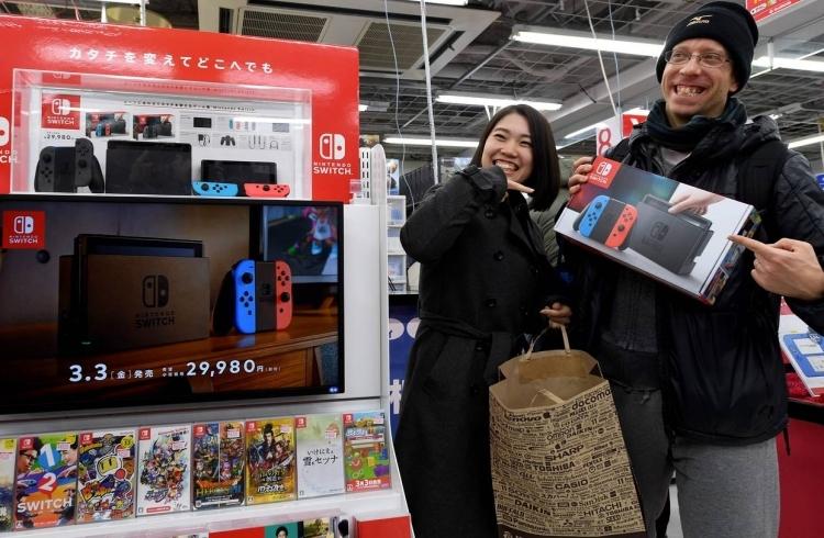Nintendo собралась увеличить производство игровых консолей Switch