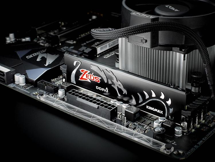 Чёрный и красный: модули памяти Kingmax Zeus Dragon DDR4