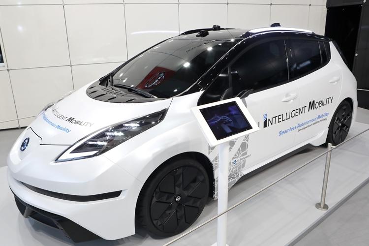 Nissan готовится к публичным испытаниям роботизированных такси