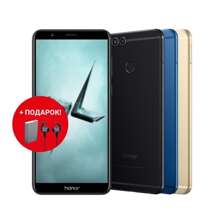Huawei представила безрамочный смартфон Honor View 10 и начала продажи Honor 7X