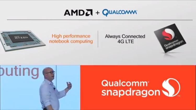 Мобильные компьютеры на платформе AMD получат LTE-модем Qualcomm