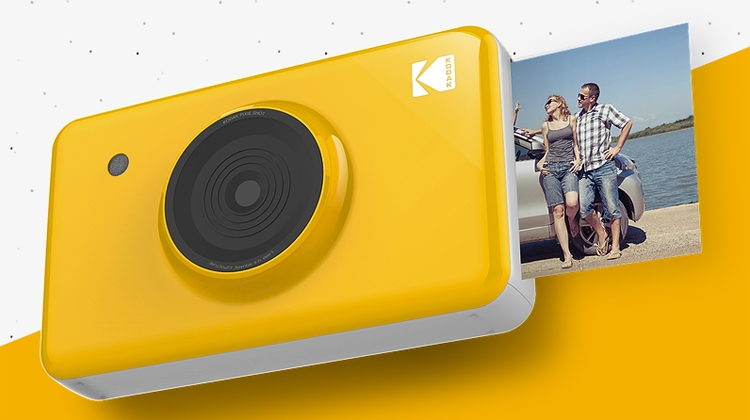 Kodak Mini Shot: камера моментальной печати с дисплеем и Bluetooth
