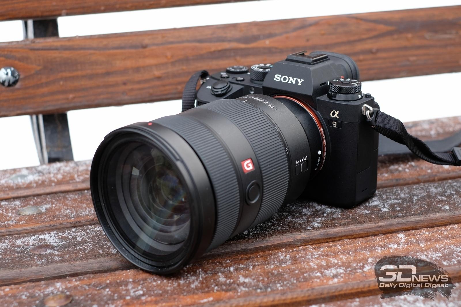 Обзор фотокамеры Sony a9: «беззеркалка» для репортеров