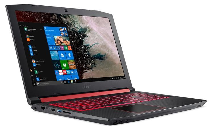 CES 2018: игровой ноутбук Acer Nitro 5 оснащён чипом AMD Ryzen