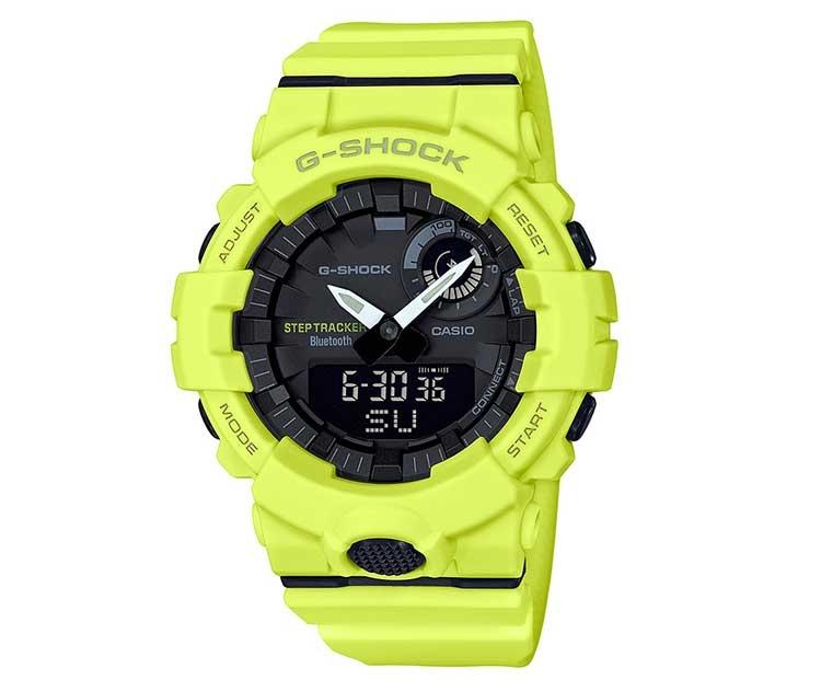 CES 2018: гибридные смарт-часы для фитнеса Casio GBA-800 и GPR-B1000