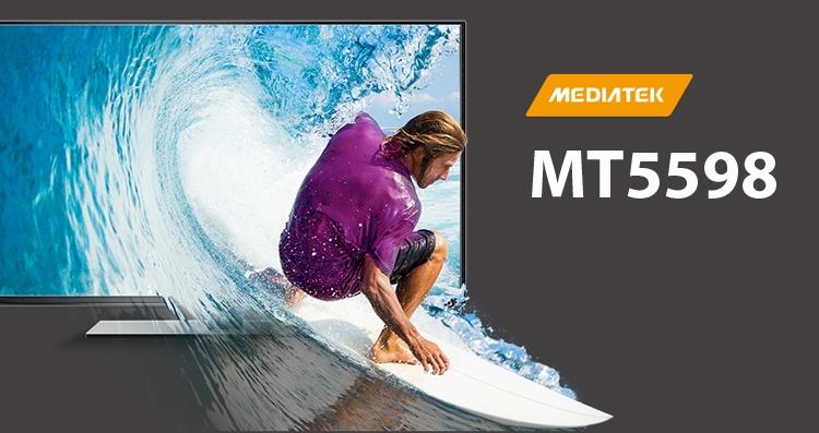 Процессор MediaTek MT5598 рассчитан на телевизоры с поддержкой HDR