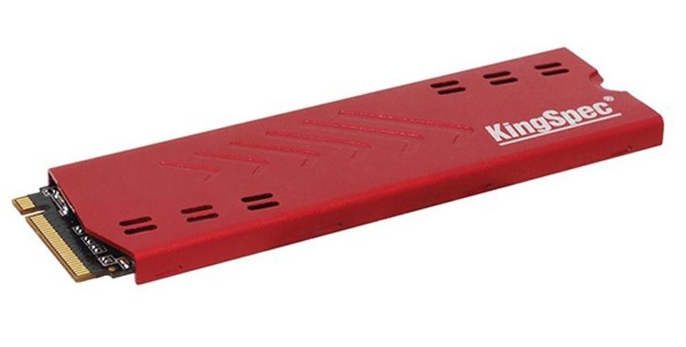 Накопители KingSpec NE Series NVMe 1.3 вмещают до 960 Гбайт данных