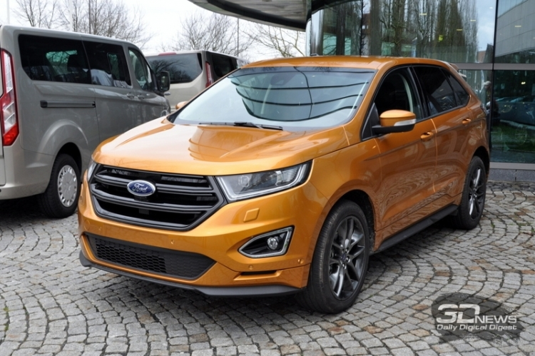 Ford оснастит системой AEB две ключевые модели 2019 года