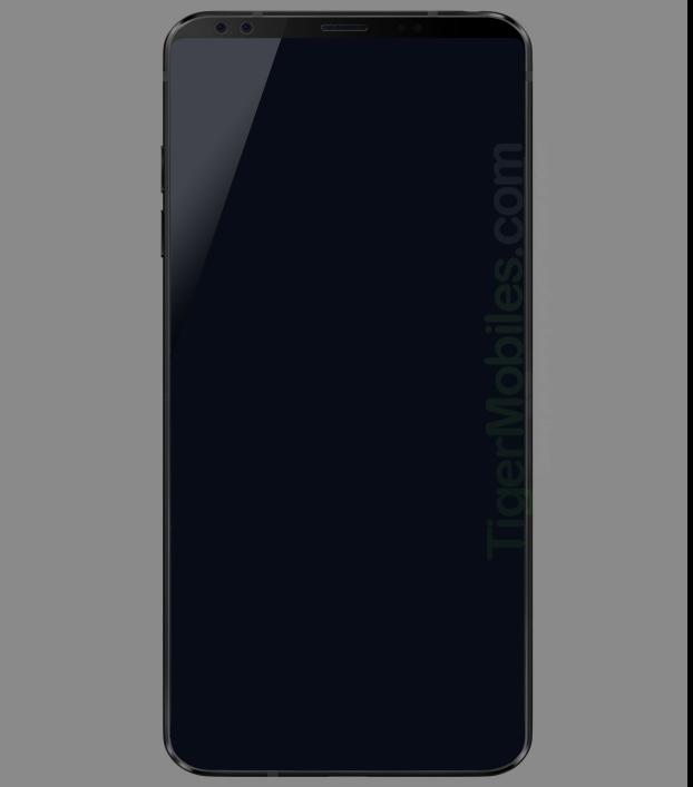 В Сеть «утекло» первое изображение безрамочного смартфона LG G7