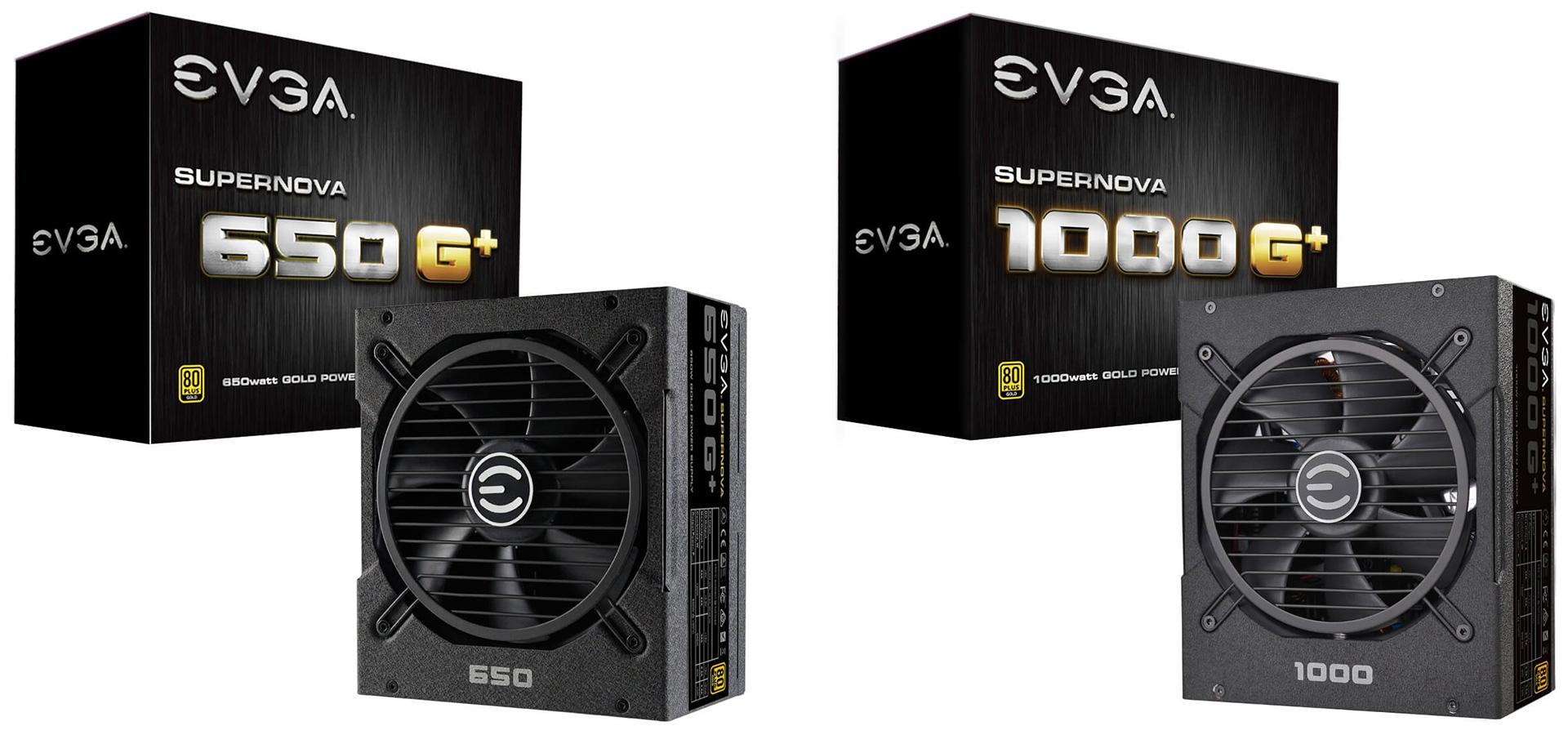 Мощность «золотых» БП EVGA SuperNova G1+ достигает 1 кВт