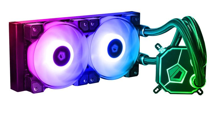 СЖО ID-Cooling Dashflow 240 располагает RGB-подсветкой