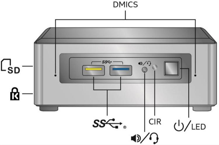 Начат приём заказов на мини-компьютеры Intel NUC поколения June Canyon