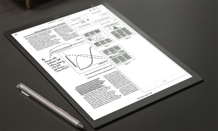 Sony проектирует новое устройство с экраном E Ink