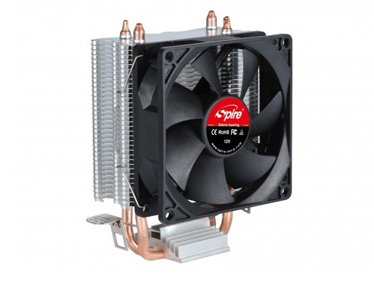 Процессорный кулер Spire Frontier Plus обладает низким уровнем шума
