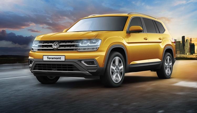 Внедорожник Volkswagen Teramont доступен для заказа по цене от 2,8 млн рублей