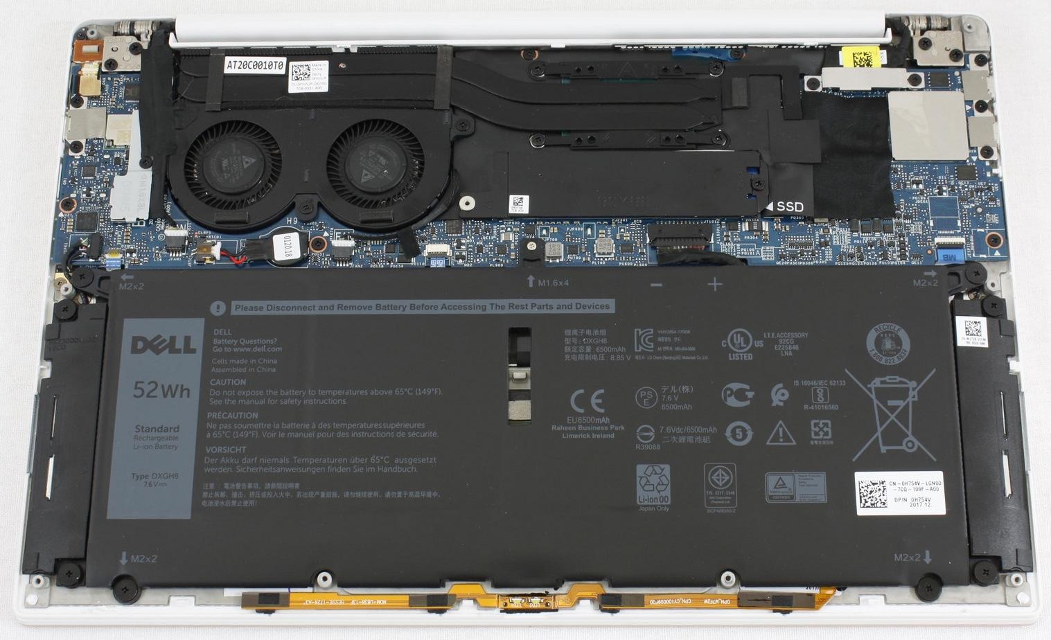 Разбираемся в многообразии конфигураций ноутбука Dell XPS 13 9370