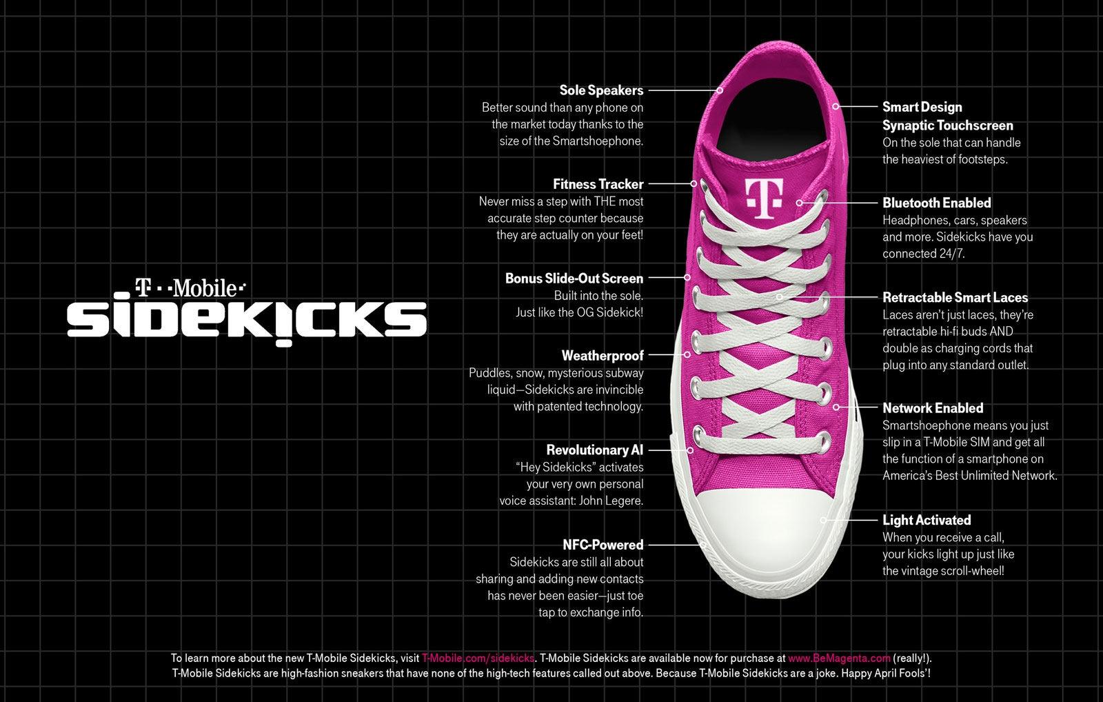 видео t-mobile представила умные кроссовки заменяющие смартфон