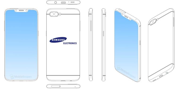 Samsung может выпустить смартфон Galaxy с вырезом в дисплее