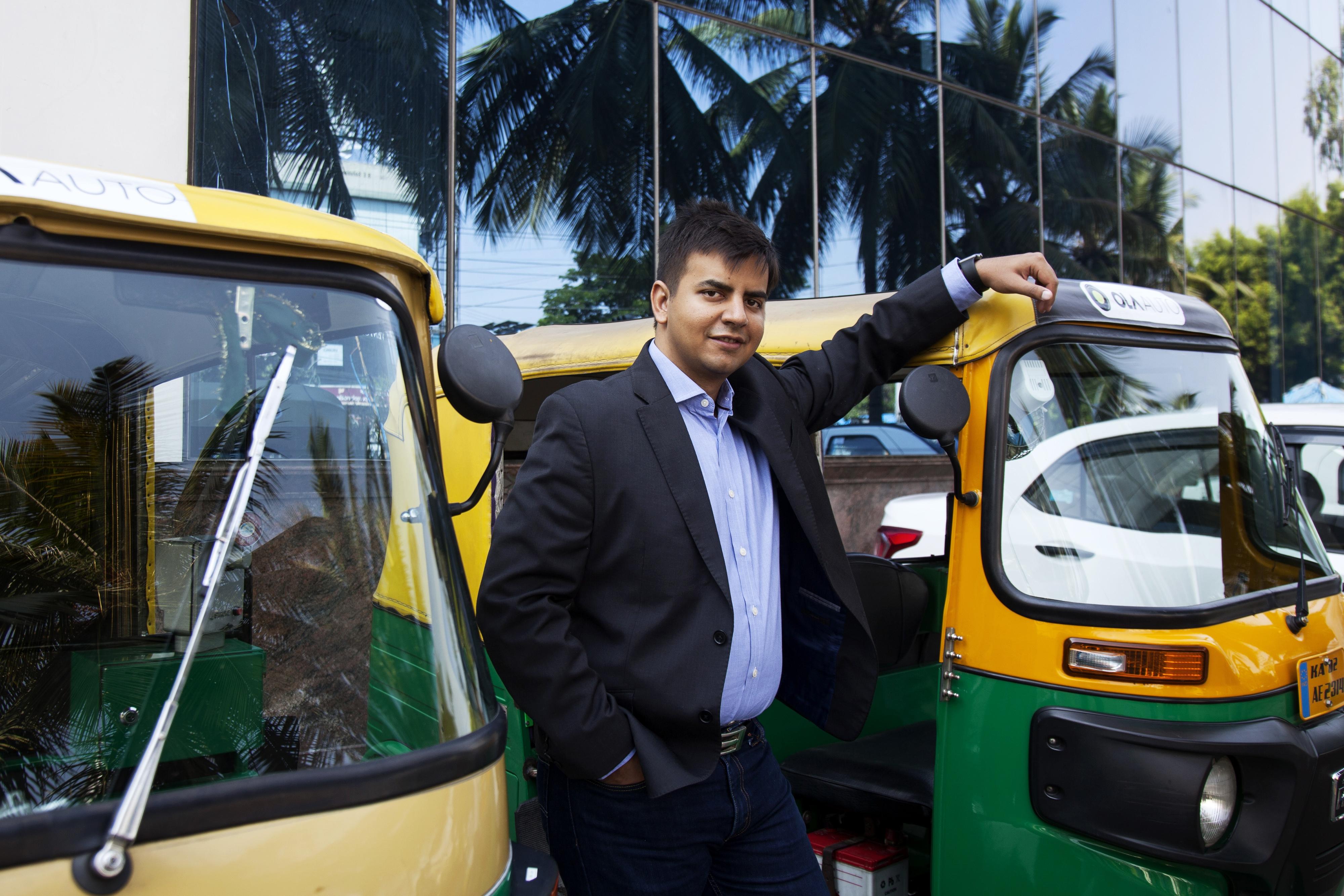 Индийская компания Ola выведет в течение года на дороги 10 тысяч электрических рикш