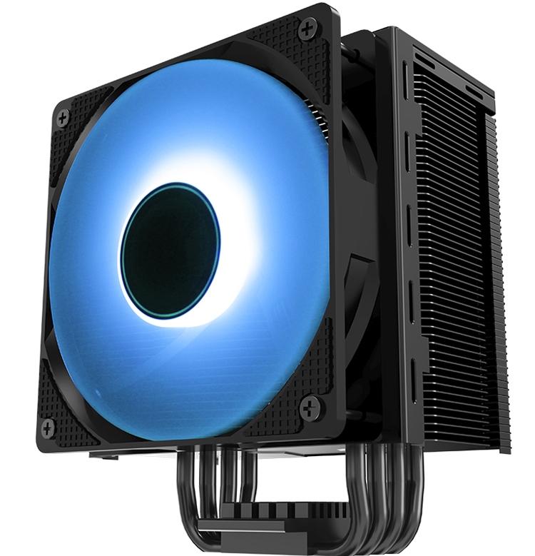 Jonsbo CR-201 Hives: универсальный процессорный кулер с RGB-подсветкой