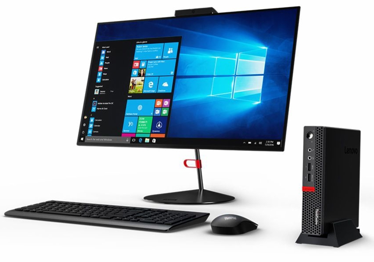 Lenovo ThinkCentre M625q Tiny: компактный бизнес-компьютер на платформе AMD