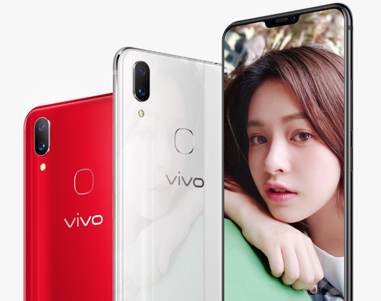 Экран смартфона Vivo X21i занимает 90 % площади фронтальной части корпуса