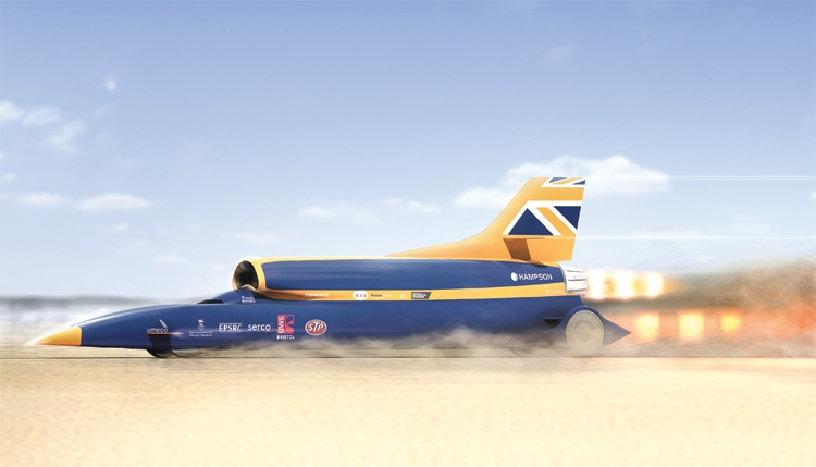 Испытания автомобиля-ракеты Bloodhound SSC откладываются