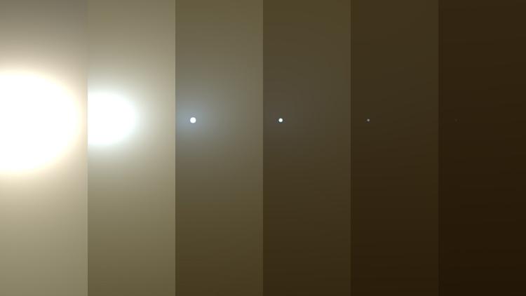Пылевая буря на Марсе может поставить точку в миссии ровера Opportunity