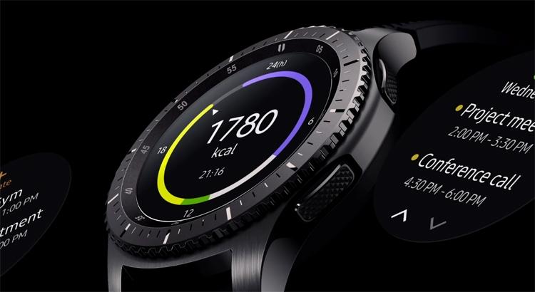умные часы samsung gear обойдут предшественника ёмкости батареи