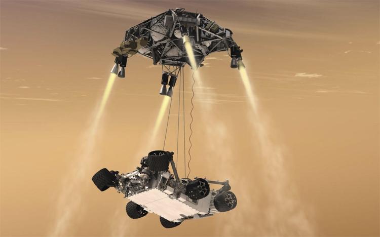 Airbus создаст ровер для доставки образцов марсианского грунта на Землю