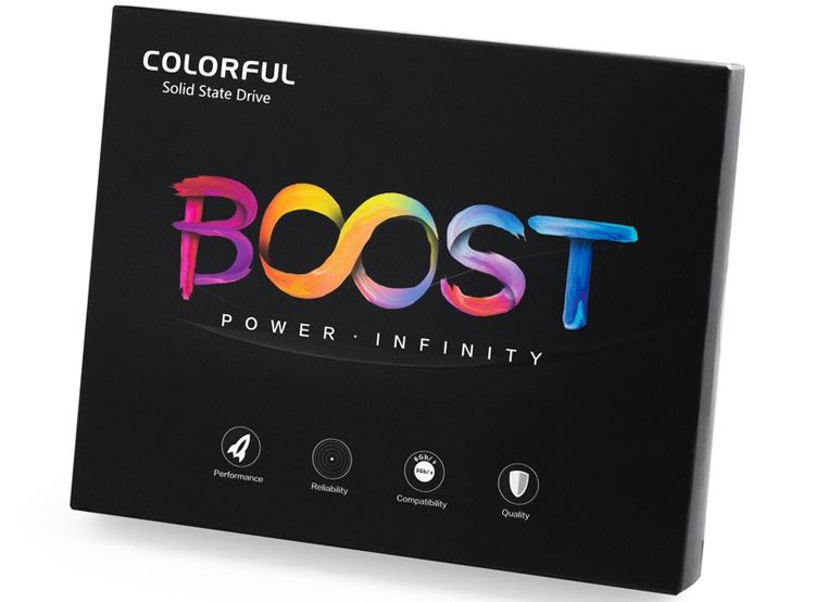 colorful sl500 boost ssd-накопитель вместимостью тбайт
