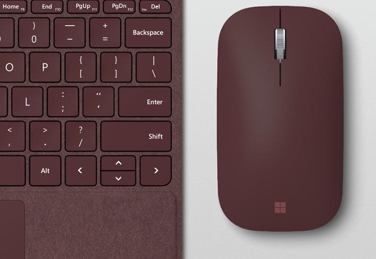 Microsoft представила новую мышь Surface Mobile