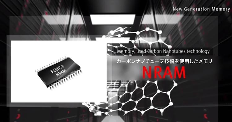 выпуск памяти fujitsu nram углеродных нанотрубках начнётся 2019