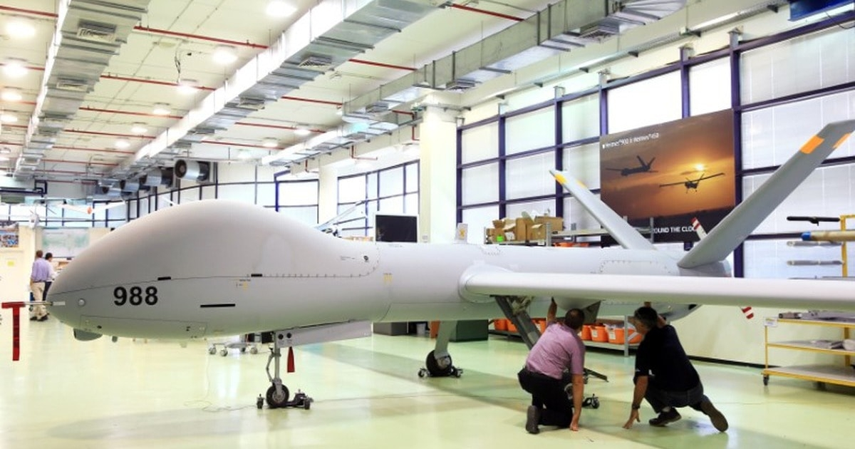 elbit представила военный дрон hermes 900 starliner