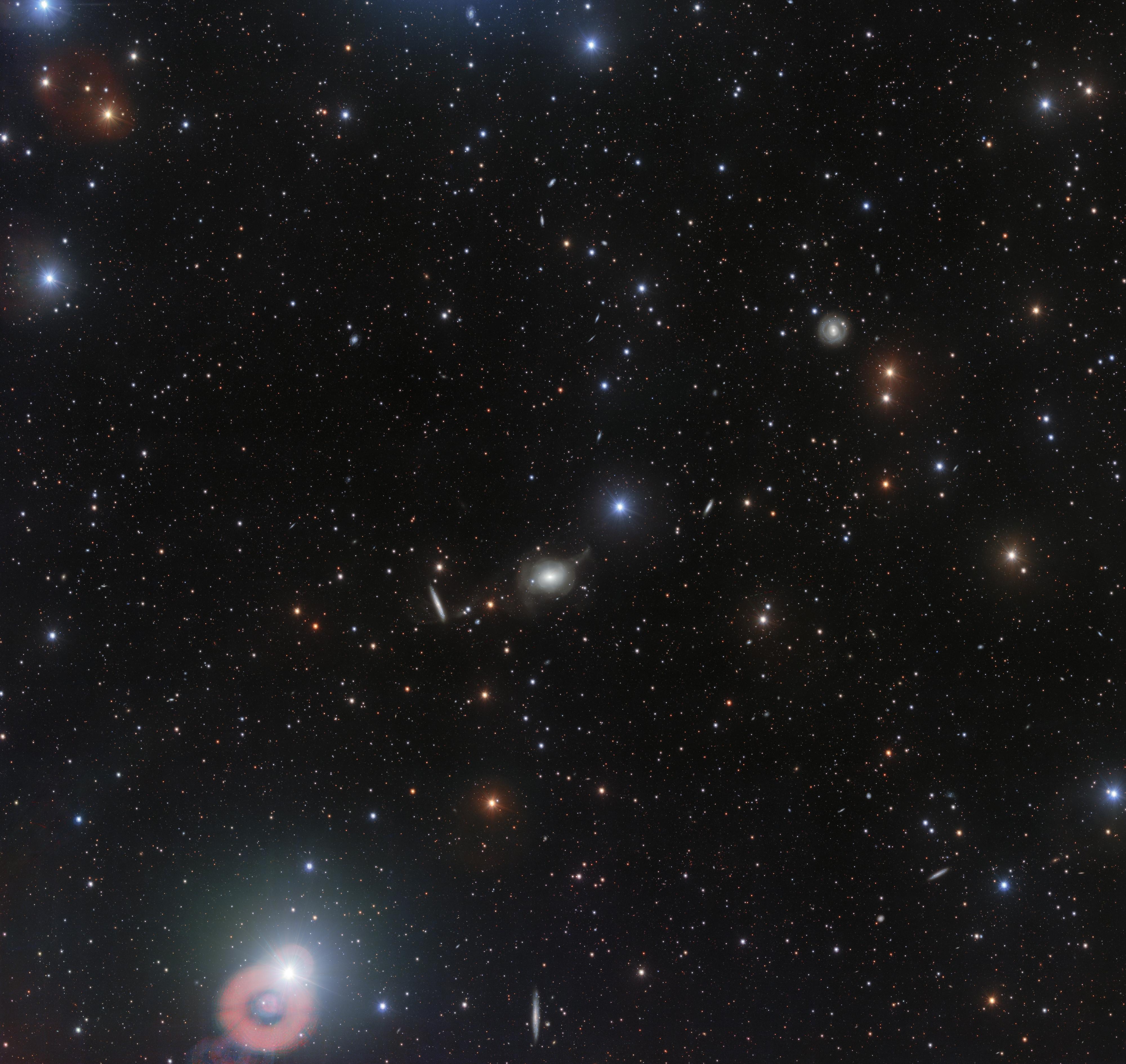 Фото дня: сияющая россыпь галактик