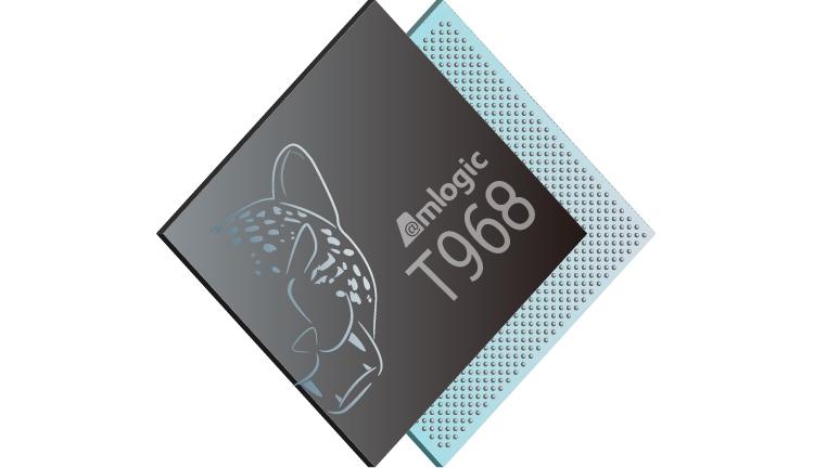 процессор amlogic t968 рассчитан умные телевизоры смарт-проекторы
