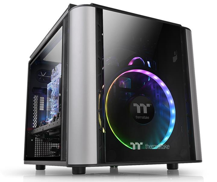 Корпус Thermaltake Level 20 VT позволяет сформировать компактный игровой ПК